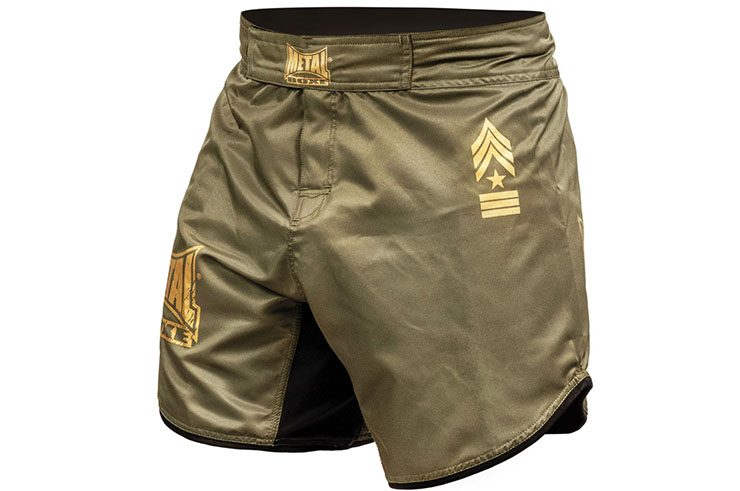 Short MMA coupe courte, Military - MB269M, Metal Boxe