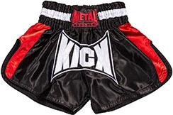 Pantalones cortos Kick & Thaï - TC70D, Metal Boxe