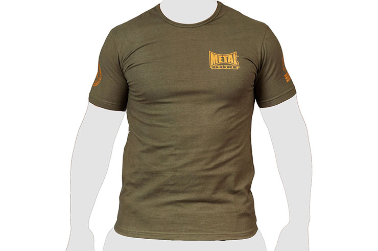 T-Shirt vintage, Military - TC105M, Metal Boxe