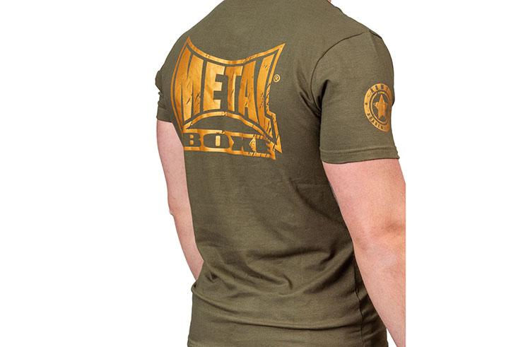 Camiseta vintage, Military - TC105M, Metal Boxe