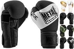 Boxing gloves, Blade Black is Black - MBGAN204N, Metal Boxe
