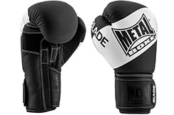 Gants de boxe, Blade Black & White - MBGAN205N, Metal Boxe