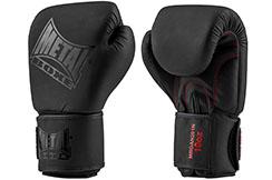 Guantes de boxeo, Black Thaï - MBGAN201N, Metal Boxe