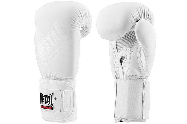 Boxing gloves, White Light - MBGAN202W, Metal Boxe
