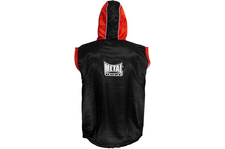 Veste de ring, à capuche - MBTEX330N, Metal Boxe