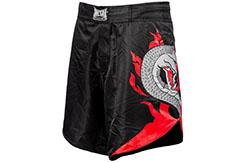 Pantalone corto de MMA Serpent - MBTEX501N, Metal Boxe