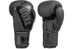 Boxing gloves, Black Paint - MBGAN252N, Metal Boxe