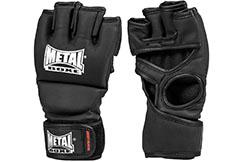 Guantes MMA, sin pulgar, competición y entrenamineto - MBGAN534N, Metal Boxe