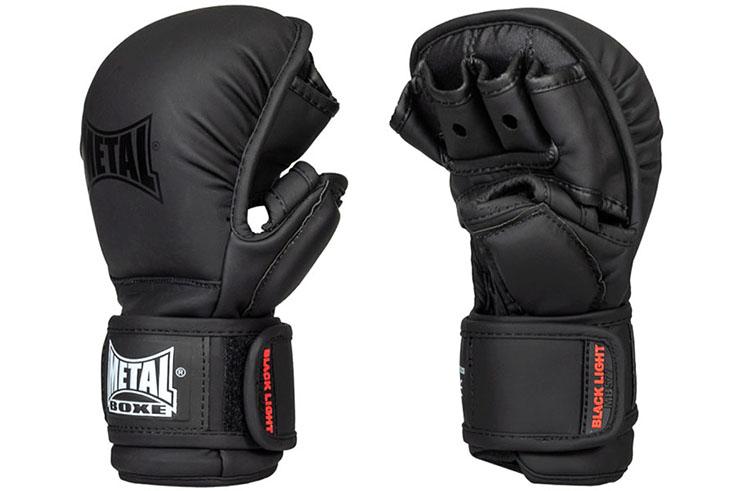 Guantes MMA, Con pulgar - MBGAN577N, Metal Boxe