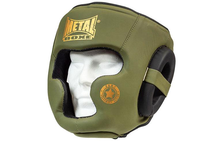 Military head guard, Training - MB229M, Metal Boxe
