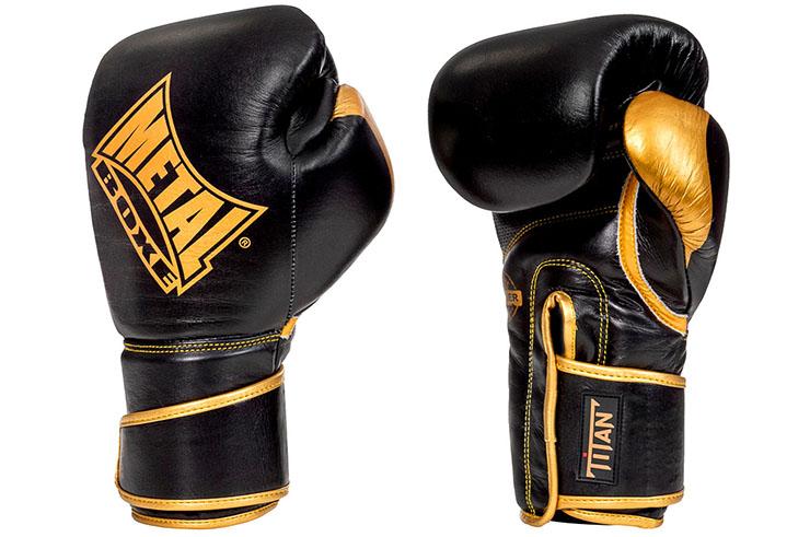 Guantes de boxeo, Titanes - MBGAN400, Metal Boxe