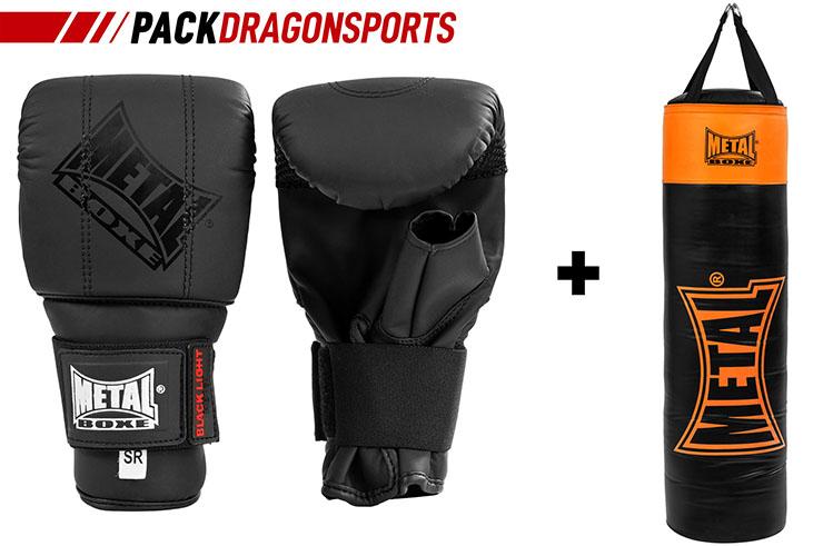 Initiation Pack, Bag & Gloves, Metal Boxe