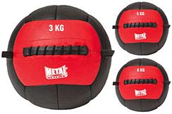 Balón medicinal, Wall Ball - MBFIT500N, Metal Boxe