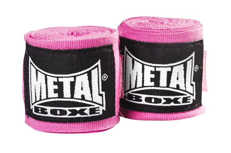 Pack de boxe, Noir & Fushia, Metal Boxe