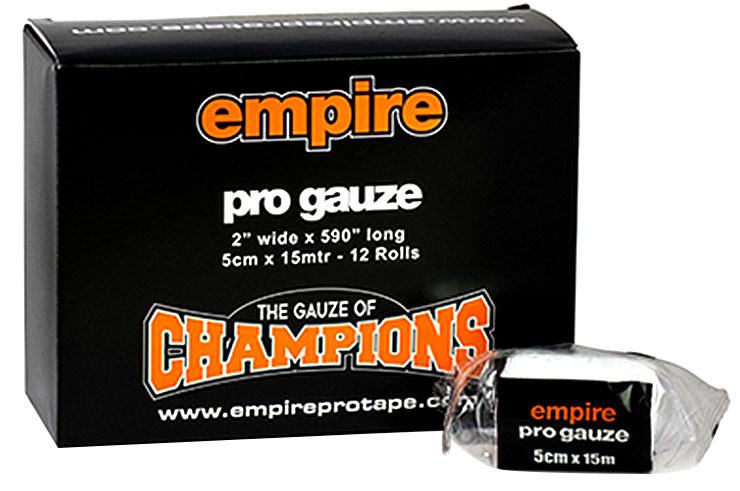 Gauze Rolls, Lot 12 - Pro, Empire Pro Tape