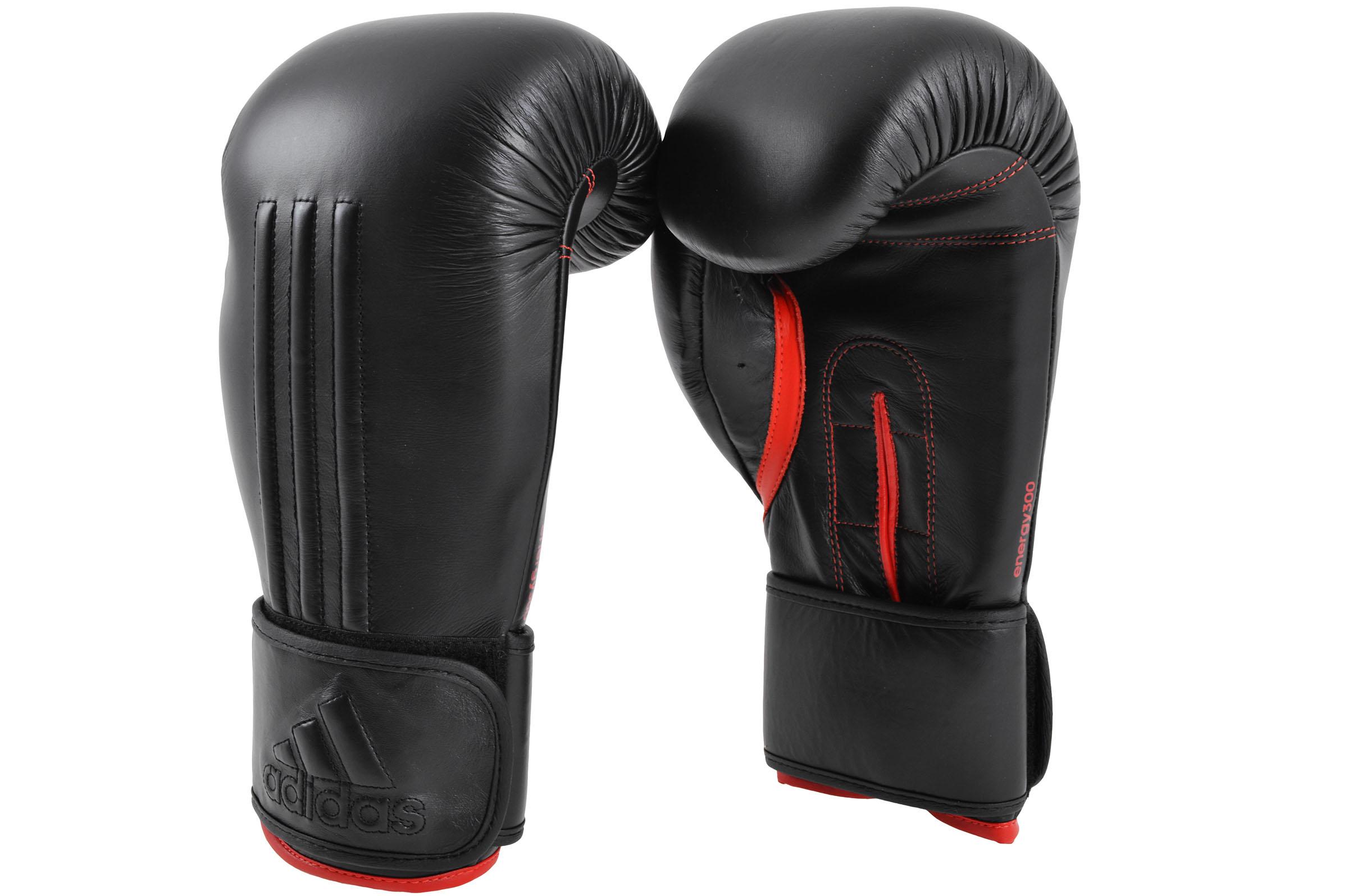 [Fin de série] Gants de boxe, Cuir, Pro ADIEBG300, Adidas
