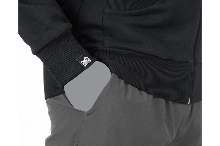 Hooded sweatshirt with Zipper, Phantom Athletics