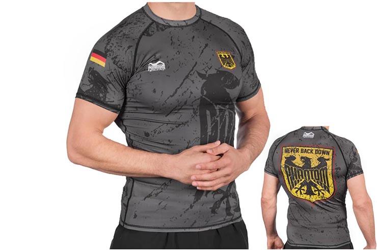 Camiseta de Compresión Mangas Cortas - Tactic, Phantom Athletics