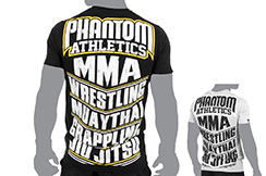T-shirt de sport - MMA, Phantom Athletics
