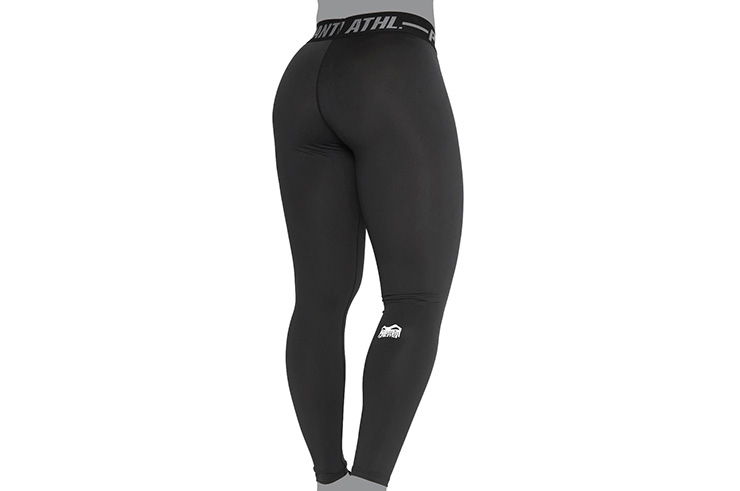 Legging, Mujer - Eclipse, Negro, Phantom Athletics