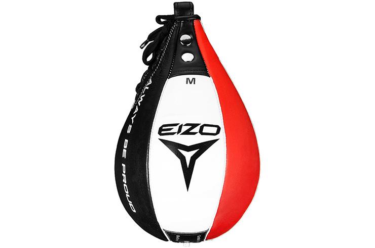 Speed Bag - white leather, Eizo Boxing