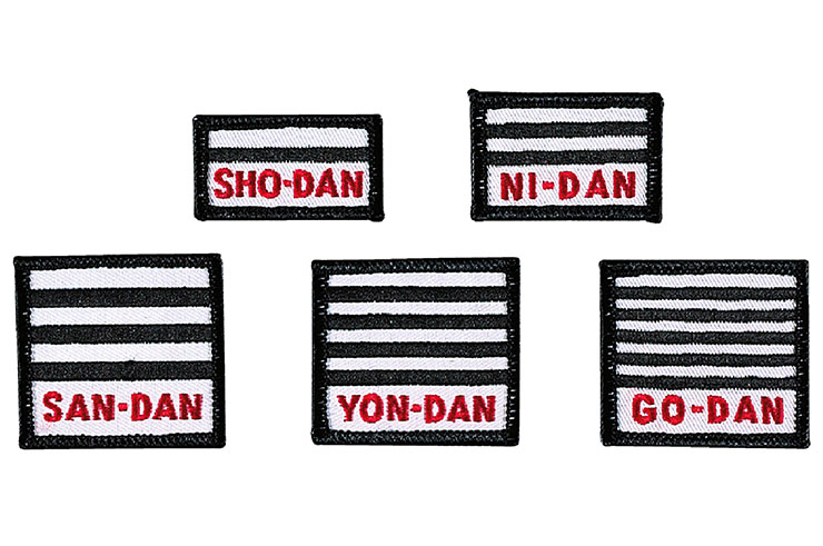 Embroidered Patches, Judo - Kwon
