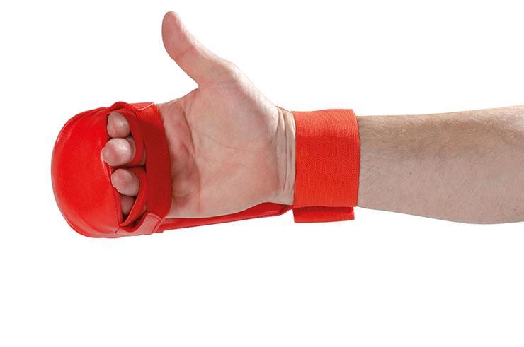 Karate Gloves, Thumbless - WKF, Wacoku