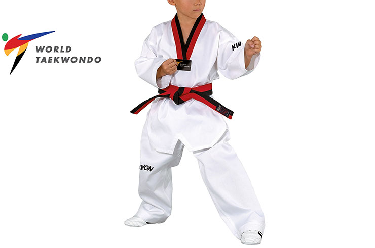 Children's Poomsae Kimono, Victory - WTF, Kwon