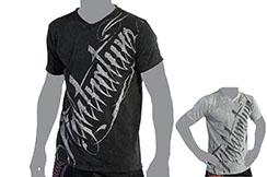 Camiseta de mangas cortas con cuello en V - Fightnature, Kwon