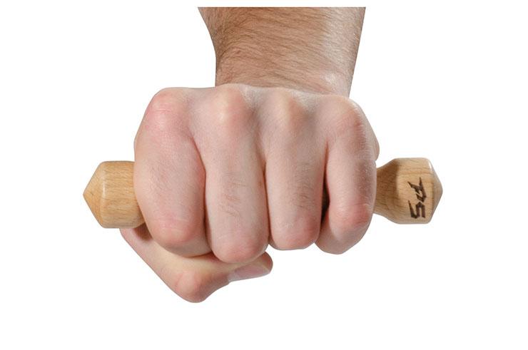 Iron fist, beech wood
