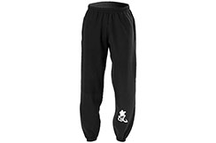 Sports trouser, Black - Cotton, Qi