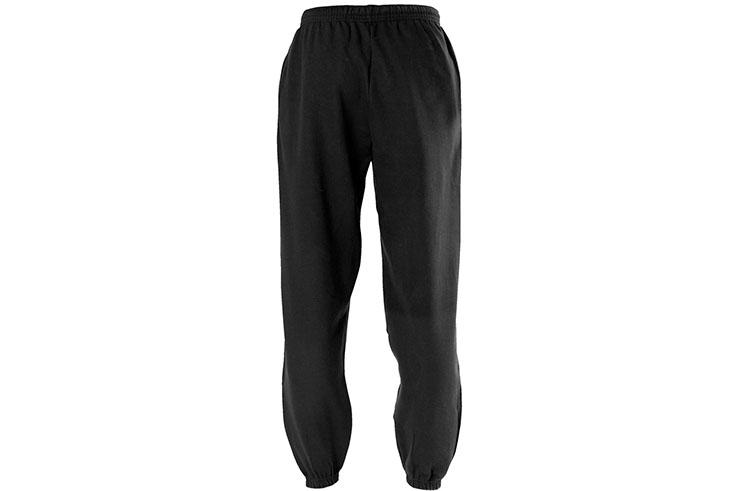 Sports trouser, Black - Cotton, Qi