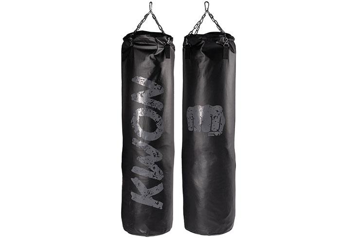 Saco de boxeo negro mate - Vacío, Kwon