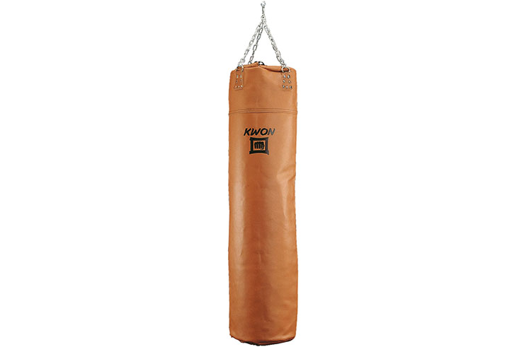 Puching bag, Vintage Leather, Empty model - Kwon
