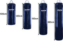 Sac de Boxe Extra Lourd - Rempli de sable, Kwon