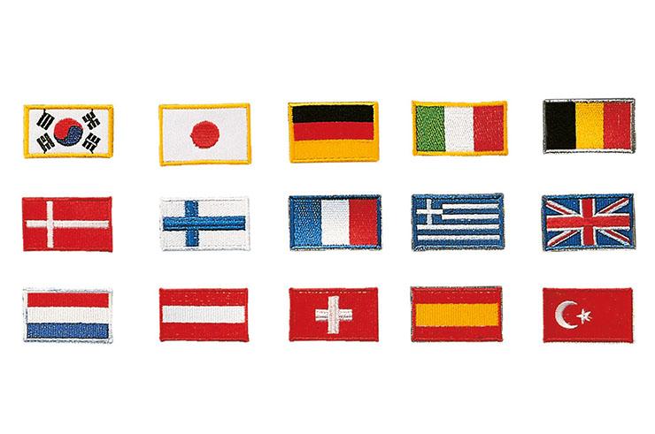 Insignes Drapeaux des Pays - Broderies, Kwon
