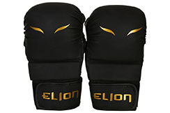 MMA & Sparring Gloves - Matte Black, Elion