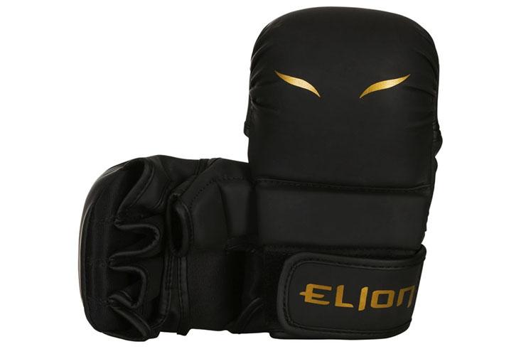 Guantes de MMA y Sparring - Matte Black, Elion