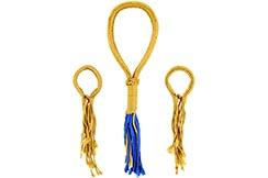 Mongkon y Prajeet de Muay Thai, Oro y Azul