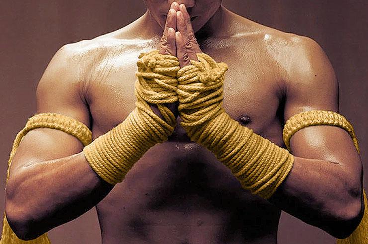 Traditional Kard Chuek hand ropes (Muay Thai)