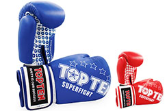 Boxing Gloves - Premuim Quality leather, Top Ten