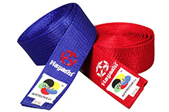 Belt for karate - WKF, Hayashi