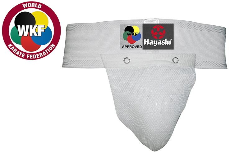 Coquille de protection WKF, Hayashi