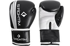 Guantes de Boxeo, Cuero Sintético - edición exclusiva, S'Fightim