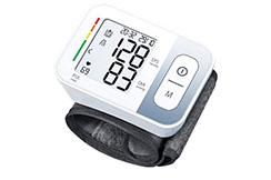 Tensiomètre cardiofréquencemètre poignet, IHM