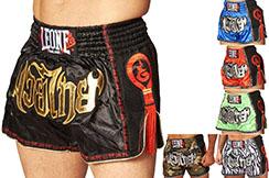 Pantalones Cortos de Muay Thai / Kick, Bangkok - AB754, Leone
