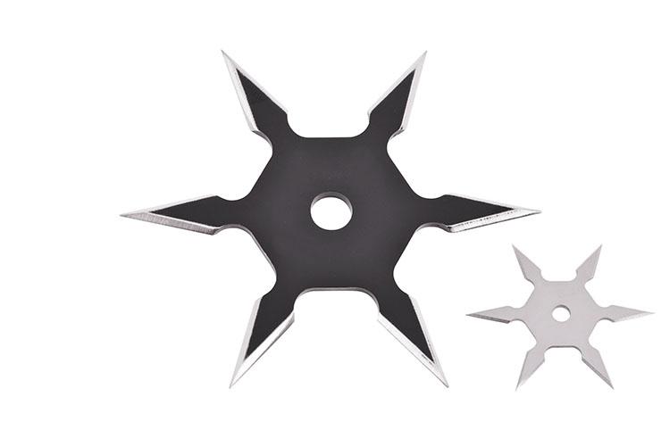 Ninja Shuriken Throwing Star, 6 Points