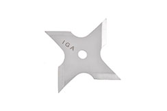Ninja Shuriken Throwing Stars - 4 Points