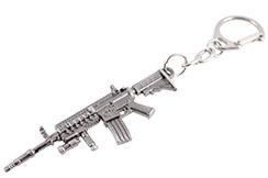 Llavero, rifle de acero - Colt M4