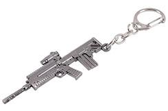 Porte-clés, Fusil Acier - Canon Long